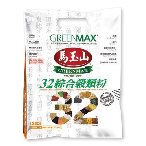 馬玉山32綜合穀粉25g x12入/袋【愛買】