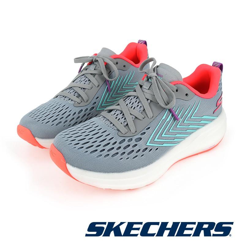 【SKECHERS】女 慢跑系列 GORUN RIDE 8 FLOW - 130018GYMT - 灰色