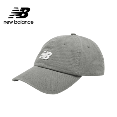 【New Balance】復古棒球帽_中性_灰色_LAH91014SEL