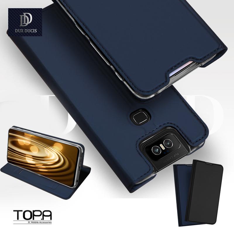 華碩 zenfone 7 / 7 pro 微磁吸耐髒卡槽立架商務 ZS670KS ZS671KS  手機皮套 手機套 保護套 skin