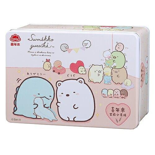 喜年來角落小夥伴芝麻小蛋捲禮盒240g【愛買】