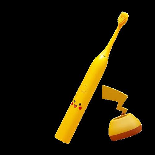 【過年限定!超值家庭組】APIYOO 皮卡丘聲波電動牙刷家庭號|POKEMON 寶可夢 家庭號 Family 電動牙刷【森活館】