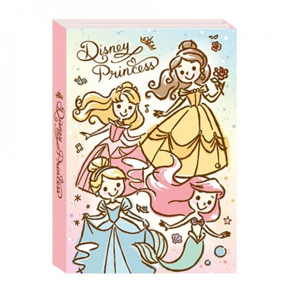 公主系列 迪士尼多摺便條本 便條紙 便利貼DPCI-M505B 1160 【金玉堂文具】