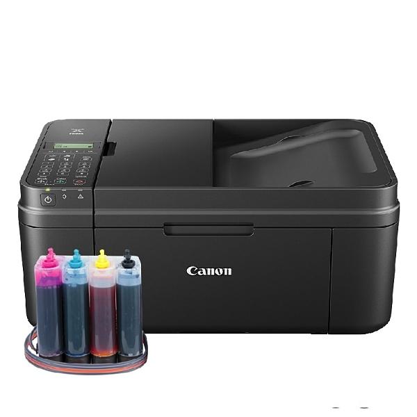 【加裝連續供墨系統】CANON MX497 雲端無線多功能傳真複合機