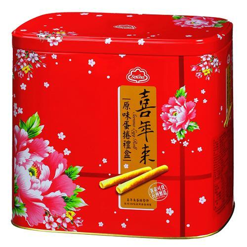 喜年來原味蛋捲禮盒512g【愛買】