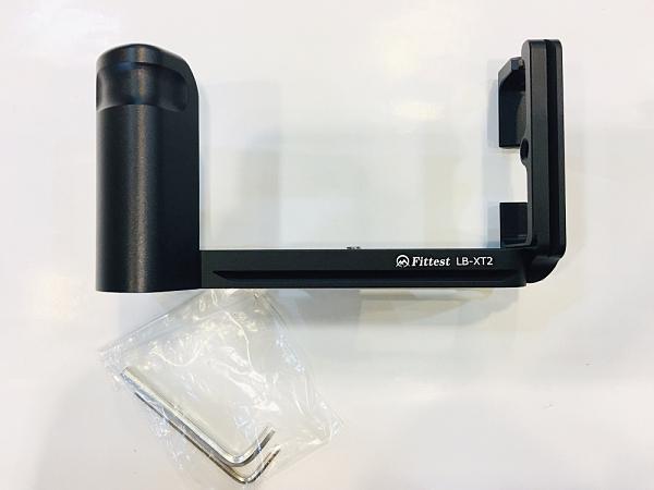 【聖影數位】Fittest LB-XT2 Fujifilm X-T2 L型專用快拆板帶握把