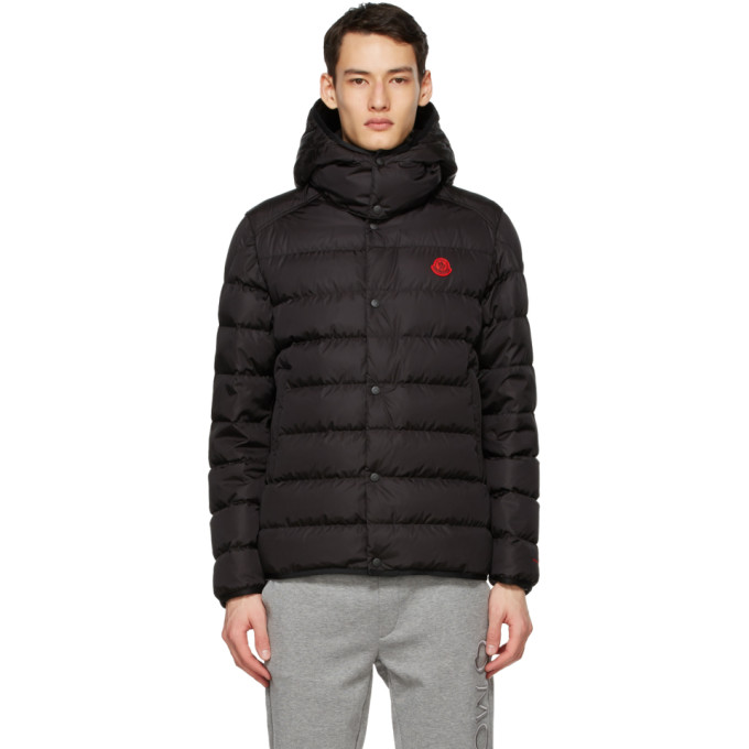 Moncler 黑色 Born To Protect 系列 Dabos 羽绒夹克