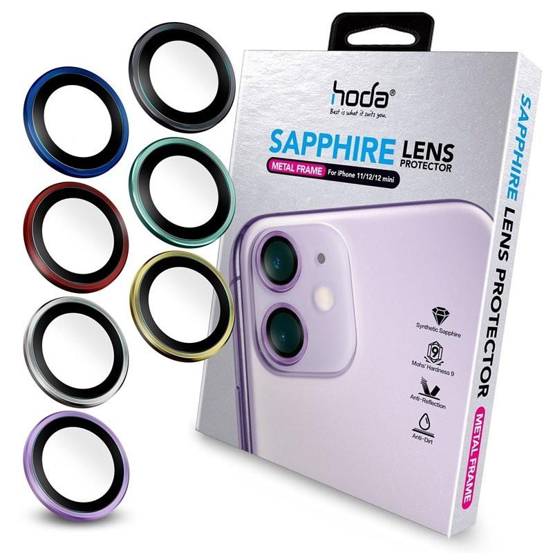 hoda【iPhone 12 / iPhone 12 Mini/ iPhone11】藍寶石鏡頭保護貼