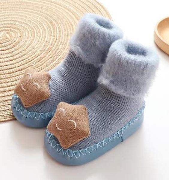 學步鞋 春款0加厚保暖軟底男女寶寶學步鞋襪加絨冬季棉鞋子1歲【快速出貨八折搶購】