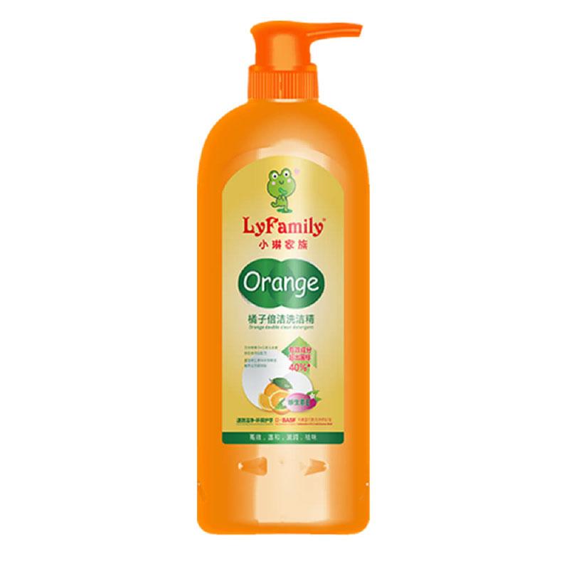 小琳家族 橘子倍潔洗潔精