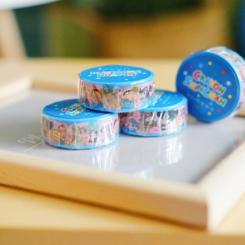 《蠟筆小新》日本商品 人物大集合紙膠帶 日本文具 收藏 手帳裝飾 禮物