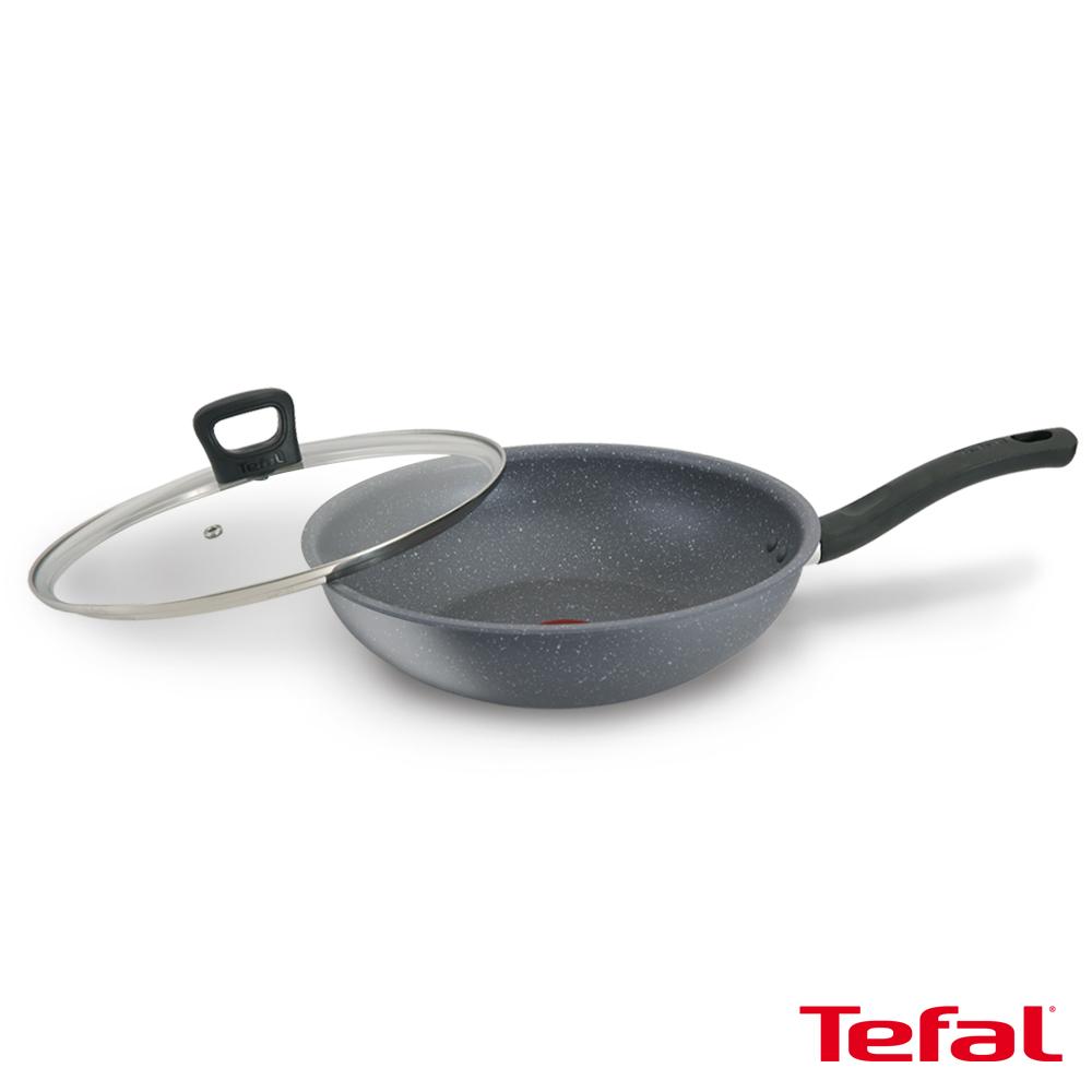 Tefal法國特福 礦物元素IH系列28CM不沾小炒鍋(加蓋) SE-G1341695