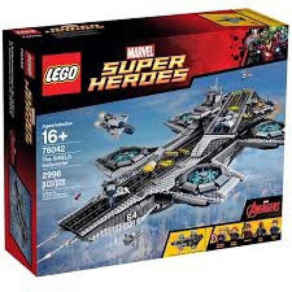 LEGO 樂高 SUPER HEROES 超級英雄 神盾局空中航空母艦總部 76042