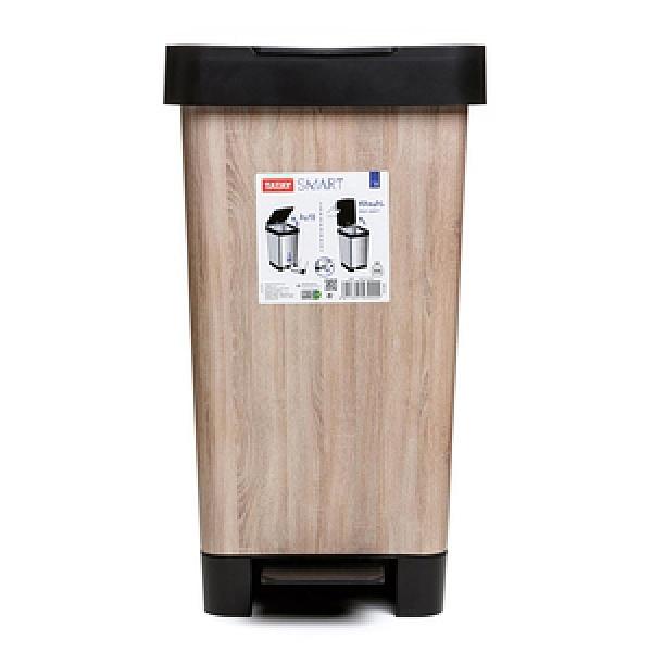 西班牙TATAY分類垃圾桶25L-木紋