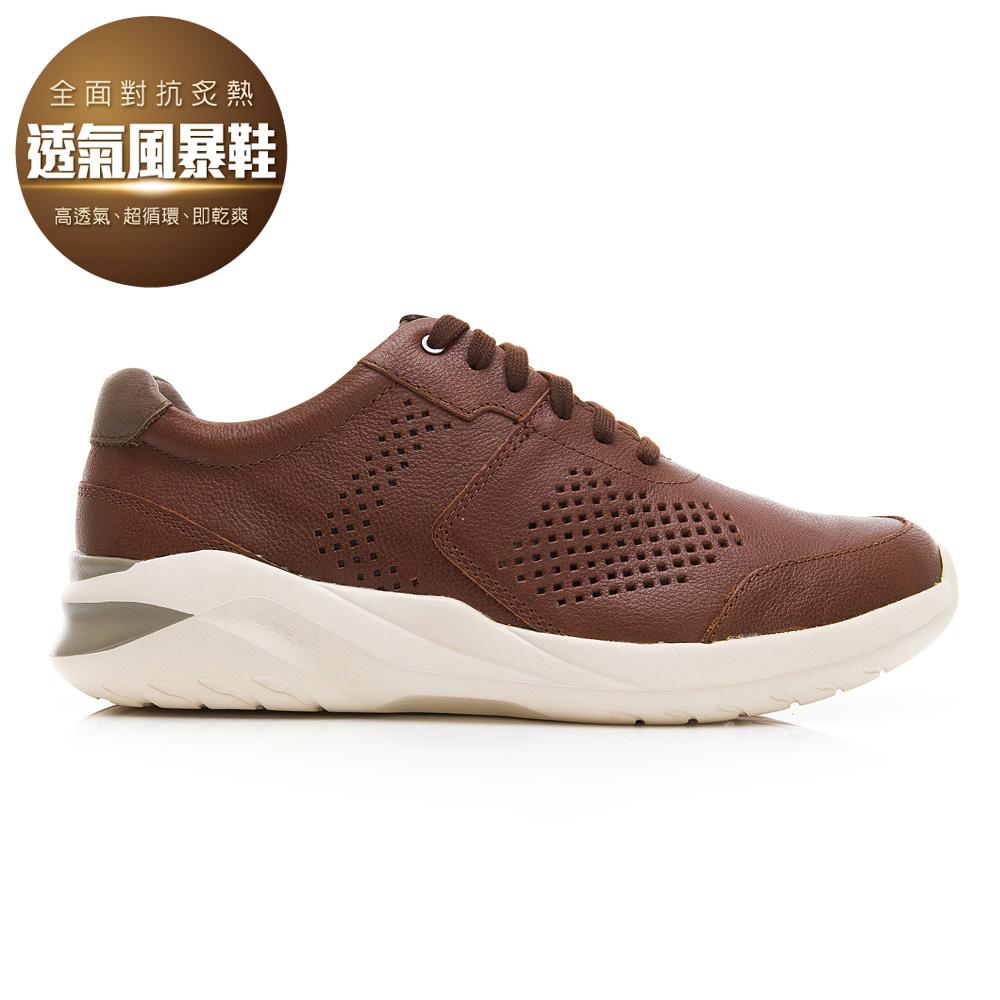 透氣風暴休閒鞋(男225010201)