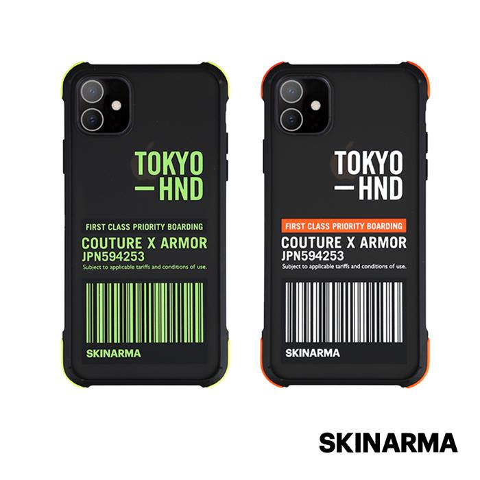 Skinarma日本潮牌 iPhone 11  Bando Sheer 耐衝擊防摔透明手機殼