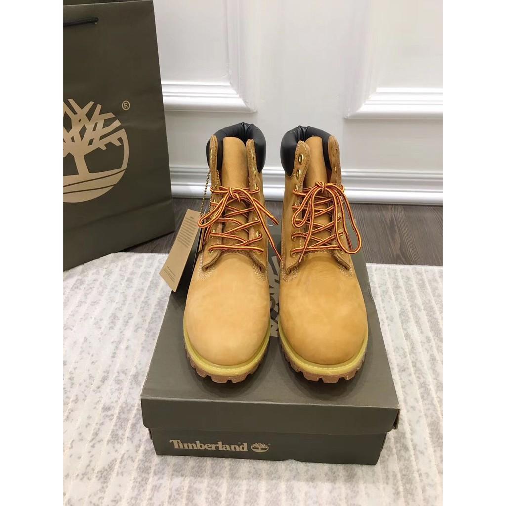 現貨Timberland黃色 防水經典大黃靴 戶外登山鞋 馬丁靴 寬版 運動鞋 男女款 10061W
