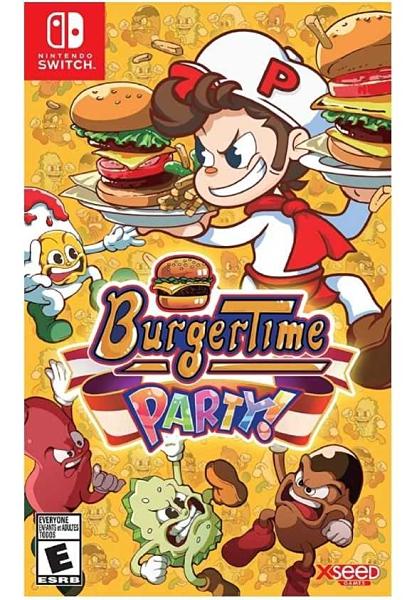 任天堂 Nintendo Switch BurgerTime Party 漢堡時間派對