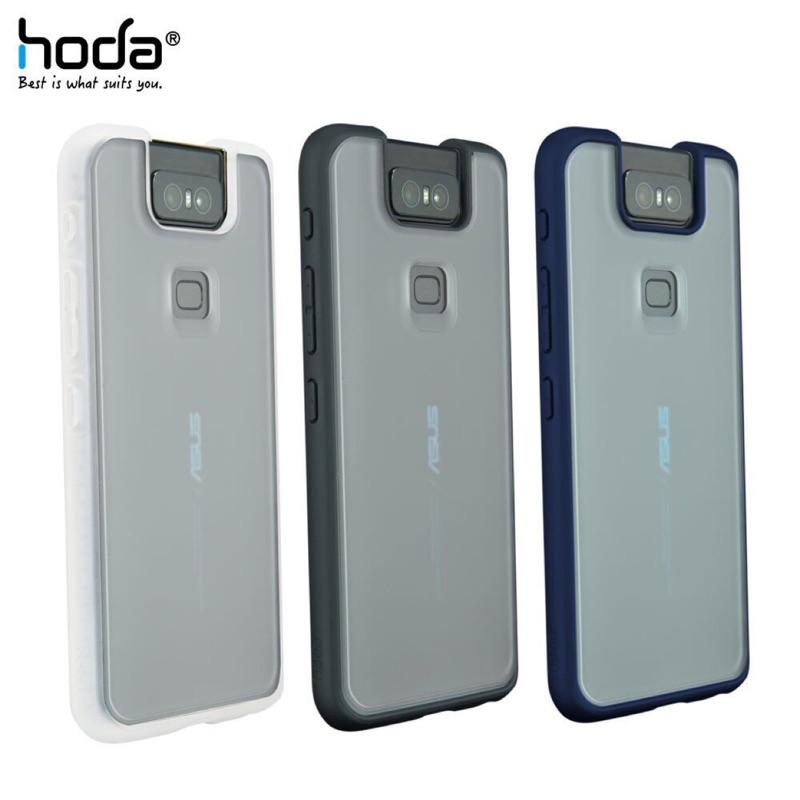 好貼 hoda【ASUS ZenFone 6 (ZS630KL) 6.4吋】 柔石軍規防摔保護殼