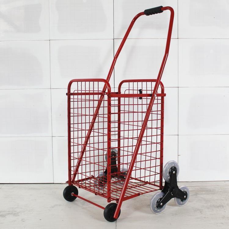 購物車便攜折疊小拉車爬樓買菜車老年手拉車手推車拉桿行李拖車