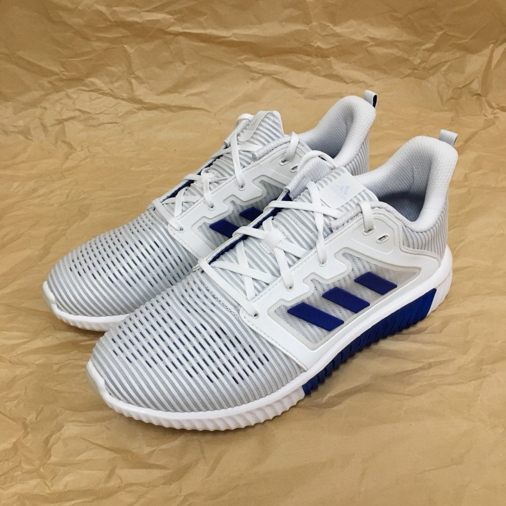 adidas 愛迪達慢跑鞋 Climacool Vent 男跑鞋 彭于晏 慢跑鞋 涼感 舒適 白 藍 CM7396