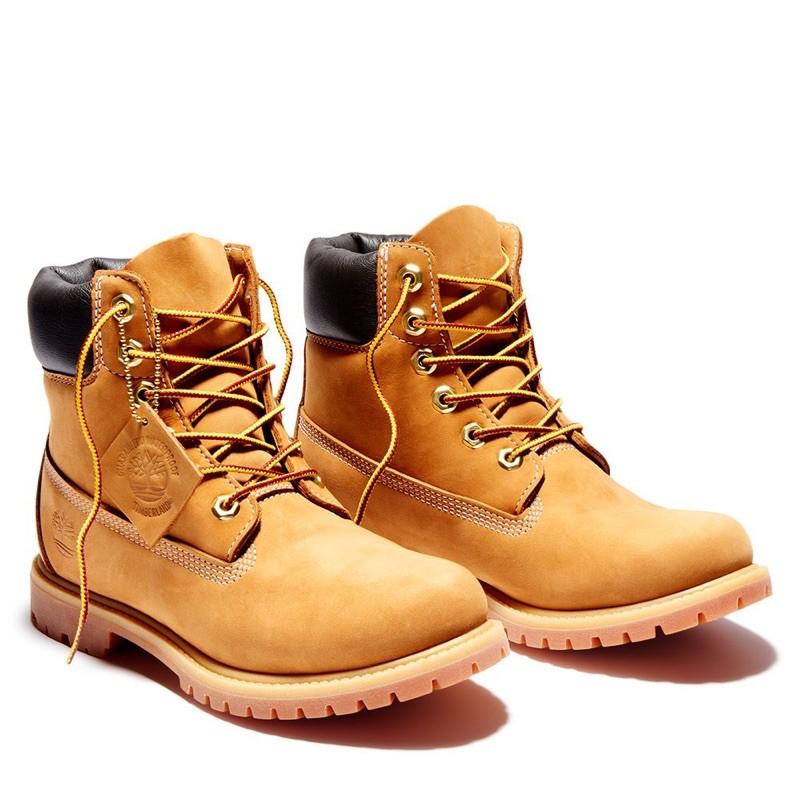 Timberland 女款小麥黃經典防水6吋靴|10361713