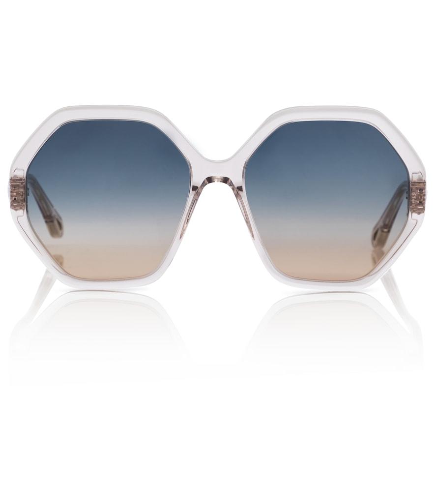Esther hexagonal sunglasses