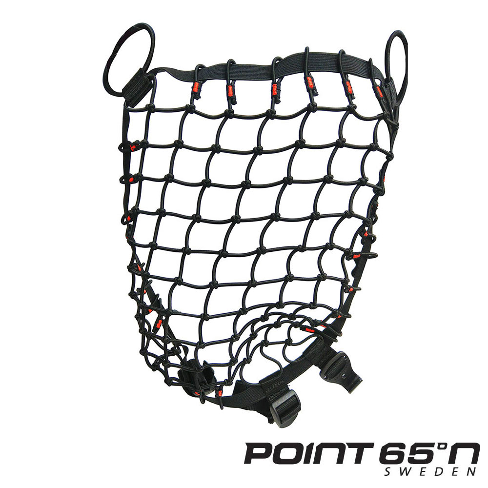 POINT 65 N BOBLBEE Cargo Net 行李網 - 黑色