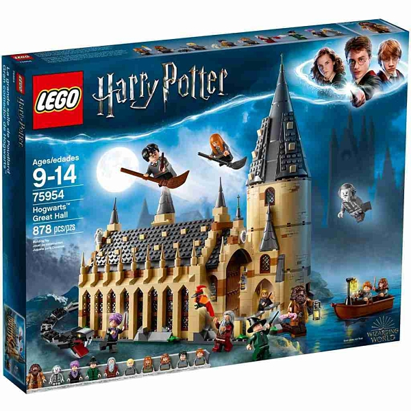 LEGO 樂高 哈利波特系列 Hogwarts Great Hall 霍格華茲大廳 75954