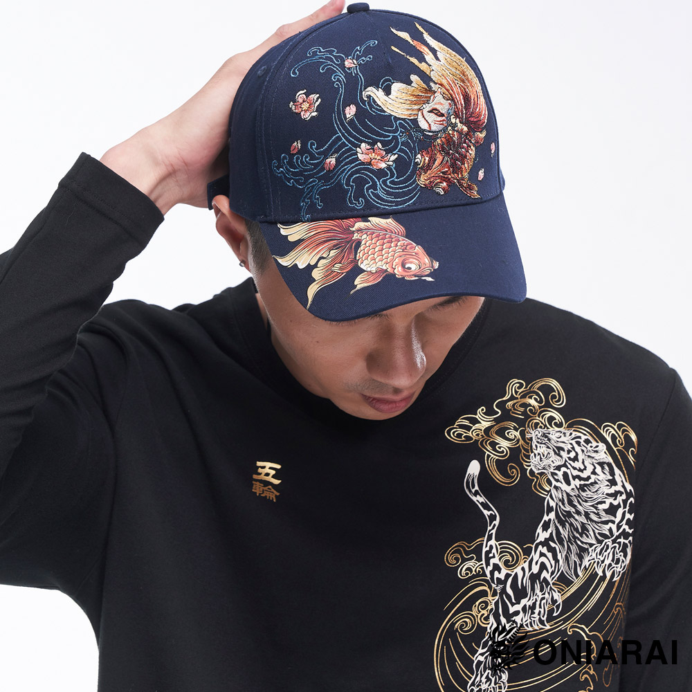 斷貨【新品配件↘9折】精繡情人鎖棒球帽 -  BLUE WAY 日本藍