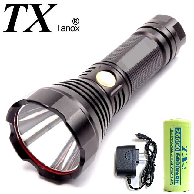 tx特林sst40 led固定焦距usb充電手電筒(t-t40m)