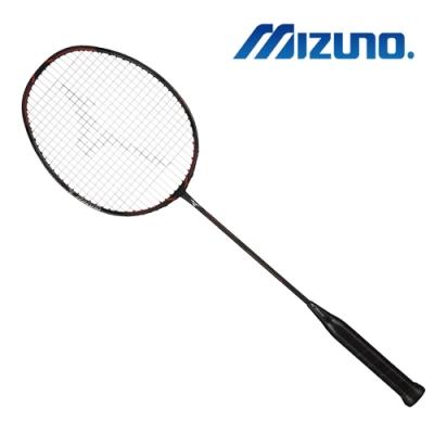 【MIZUNO 美津濃】MIZUNO 美津濃 FORTIUS 10 POWER 羽球拍 黑x紅(73JTB90409)