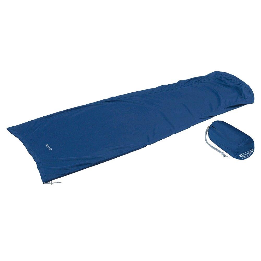 【【蘋果戶外】】mont-bell 1121197 IND 靛藍 Camp Sheet 睡袋套 內套 保潔袋