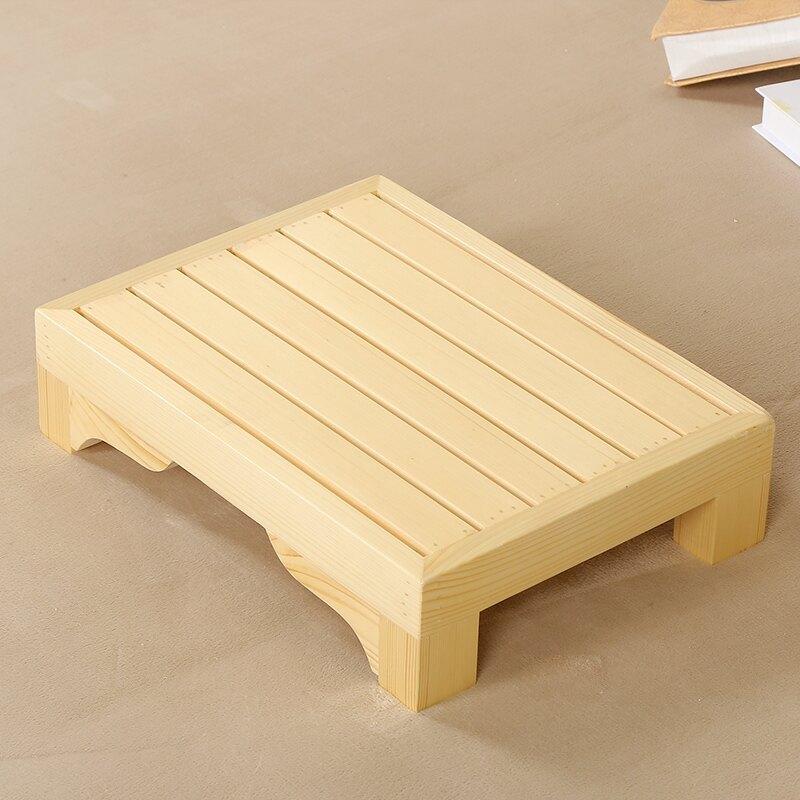 實木矮凳 創意實木床腳凳床邊擱腳凳矮凳小板凳浴室木墊辦公室凳沙發腳踏凳【XXL1147】