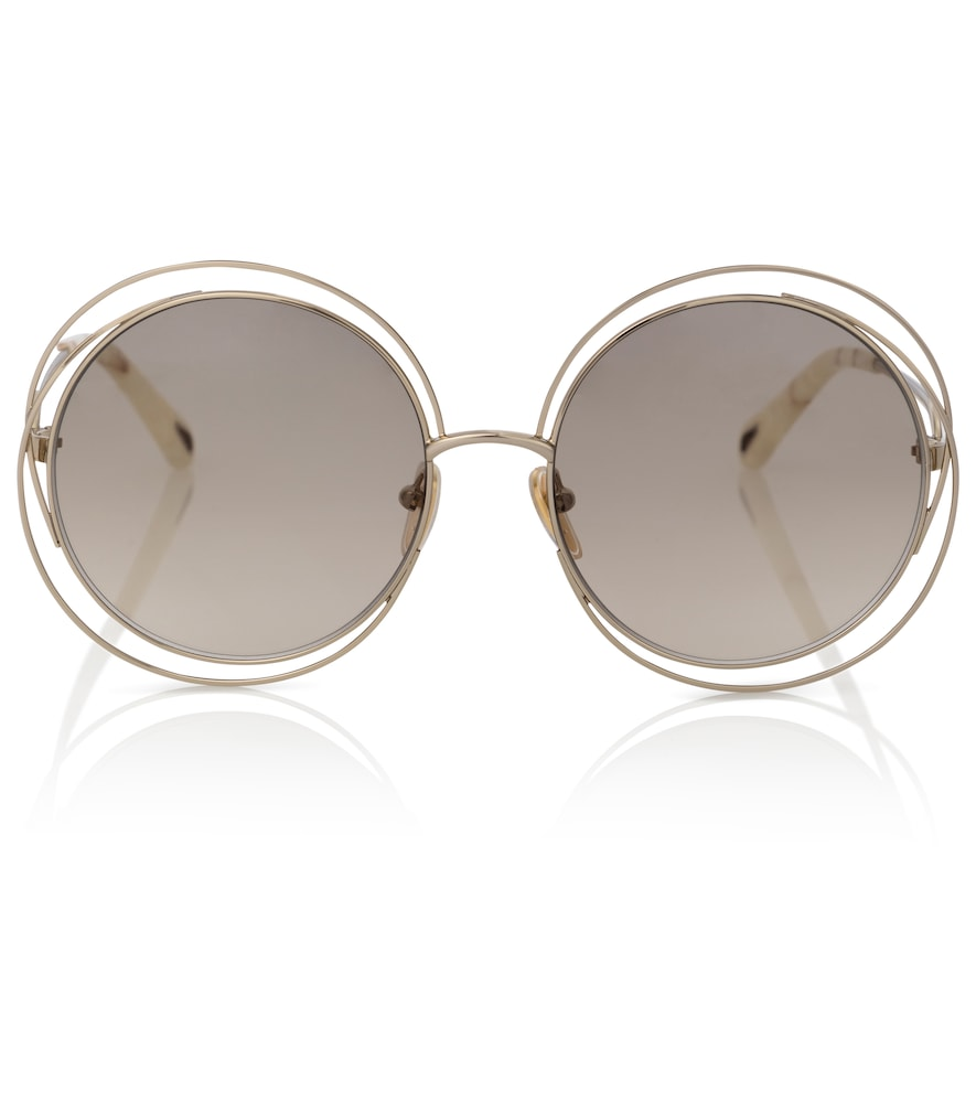 Carlina round sunglasses