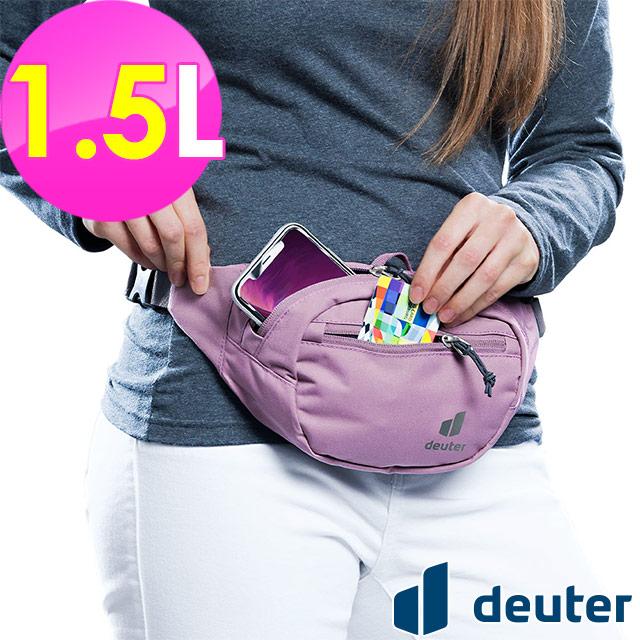 【德國deuter】Urban Belt腰包1.5L (3910420 粉紫/隨身腰包)