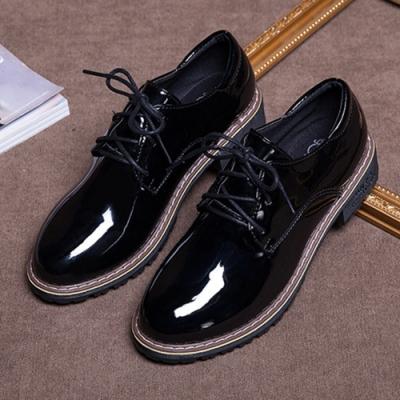 韓國KW美鞋館-(現貨)好評加碼英倫款優質小皮鞋(共1色)