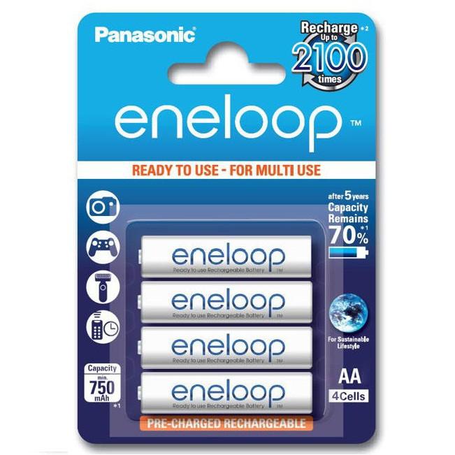 Panasonic eneloop 低自放鎳氫充電電池BK-3MCCE(3號4入)-BATTE866