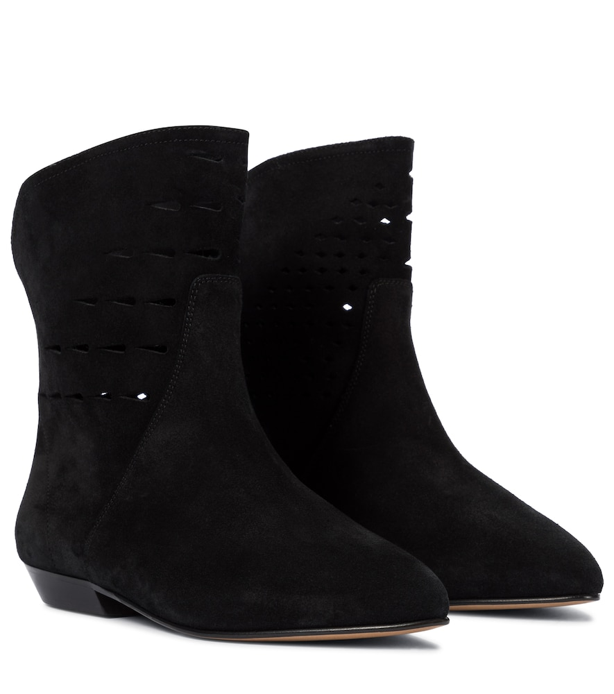 Sprati perforated leather ankle boots