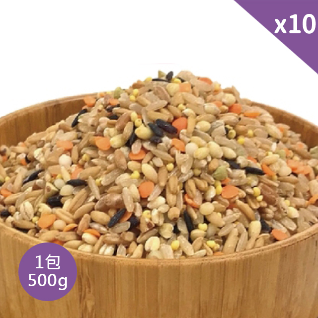 農漁樂 營養師調配纖活十穀米 (10包入)