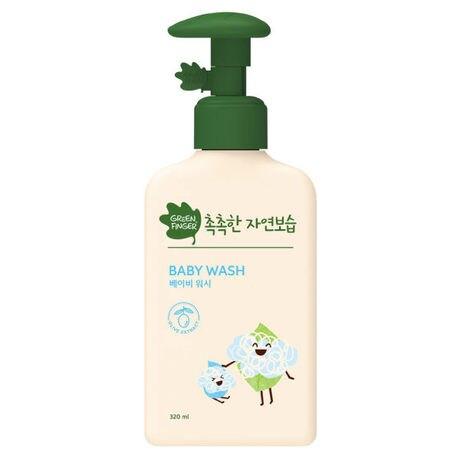 綠手指CHOK CHOK三效保濕嬰幼兒沐浴液320ml