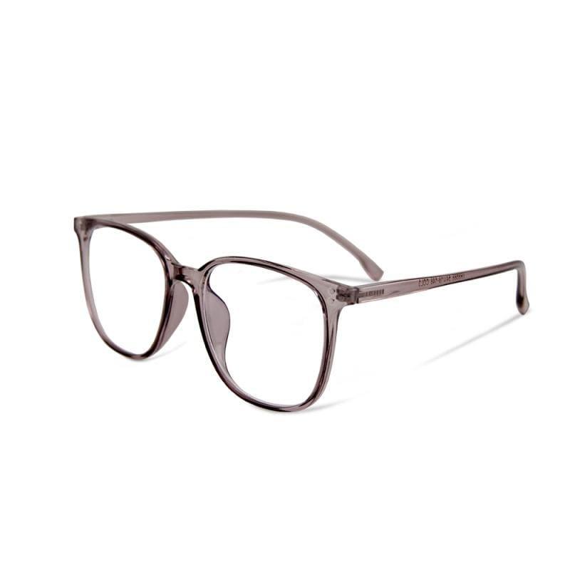 幻境的初光傾瀉│日雜經典百搭款TR90輕量森林迷蝶紫方框UV400濾藍光眼鏡 迷蝶紫