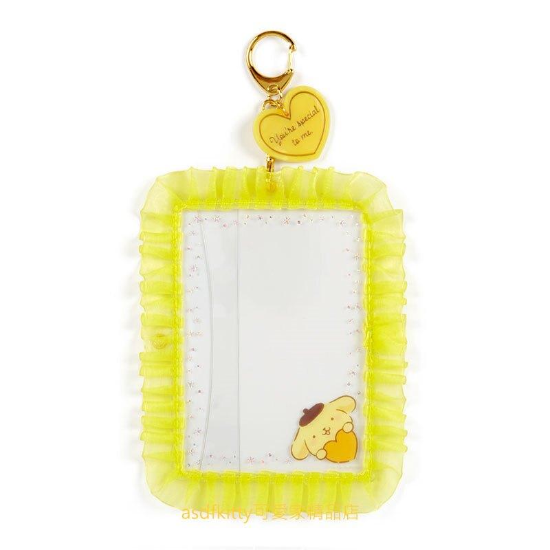 asdfkitty*布丁狗緞帶相框鑰匙圈/掛飾/吊飾/擺飾-日本正版商品