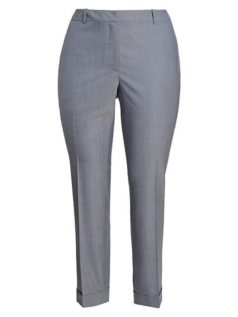 Clinton Cuffed Wool Pants