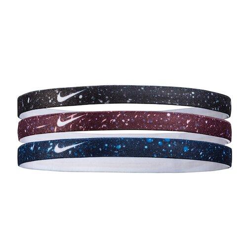 Nike Printed Hairbands [NJNJ9924OS] 髮帶 髮束 運動 止滑 3入 灰紫藍