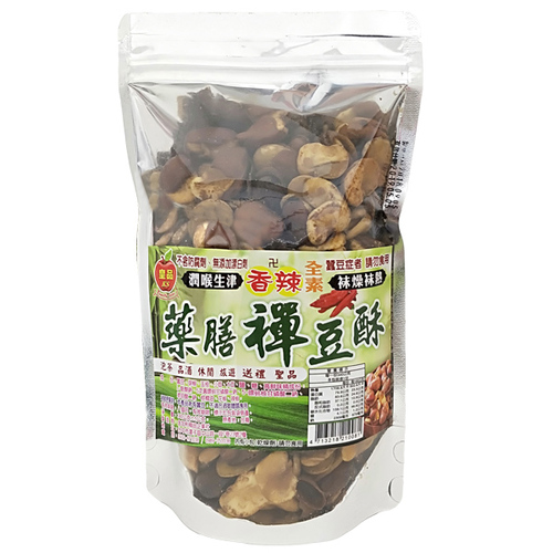 皇品 藥膳禪豆酥-香辣 340g