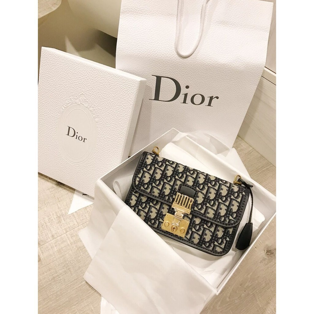 專櫃正品 Dior Oblique saddle clutch WOC 鏈條包 手拿包 現貨一個