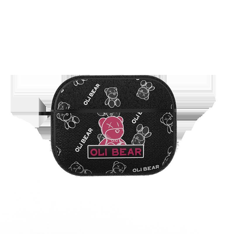 耳機保護套 蘋果AirPods Pro保護套12藍芽耳機軟殼男女二代小熊【全館免運 限時鉅惠】