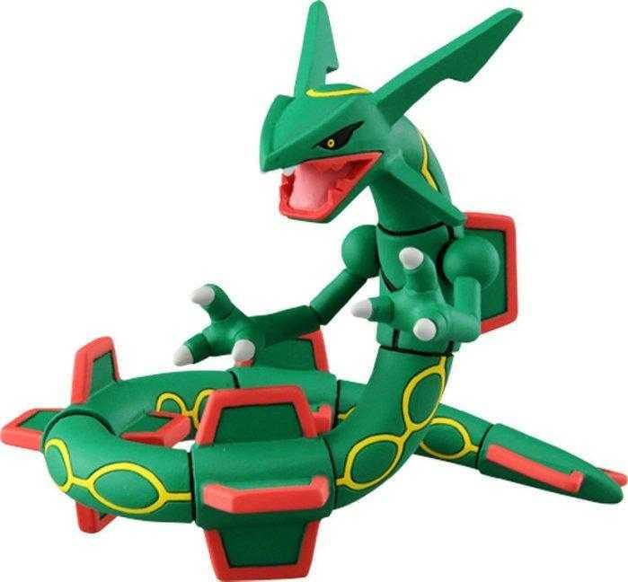 TAKARA TOMY 多美 MONSTER COLLECTION 神奇寶貝 寶可夢 綠寶石神獸 ML-05 烈空座