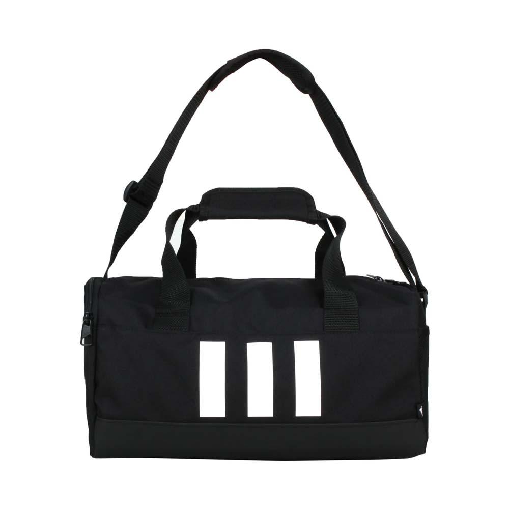 ADIDAS 小型圓筒包-側背包 裝備袋 手提包 肩背包 14L 愛迪達 黑白 F